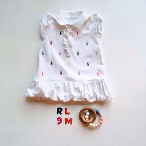 "Ralph Lauren ""tennis"" Dress and panty * 9M"